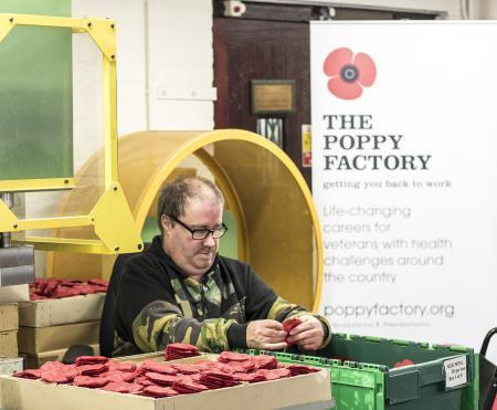 Free tours of the Poppy Factory are running throughout the summer.