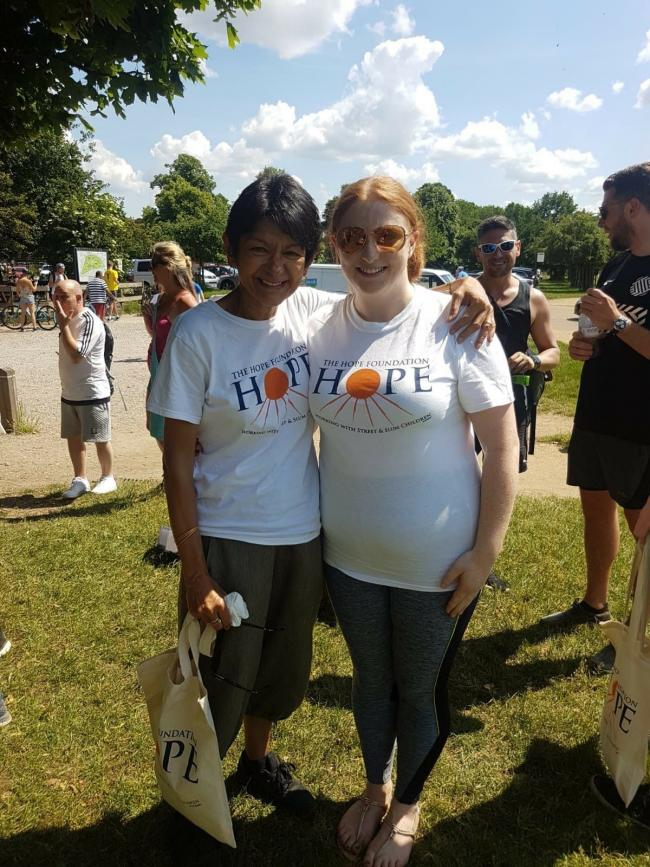 The Hope Foundation's 'Walk4Hope' charity walk takes place next month in Richmond Park