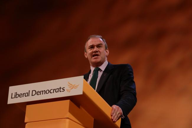 Ed Davey. Image: Liberal Democrats via Flickr
