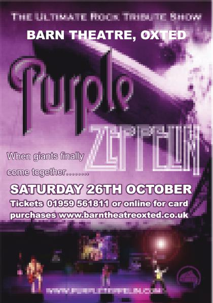 Purple Zeppelin - The Ultimate Rock Tribute Show!