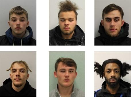 The court heard how the gang were so professional in carrying out the burglaries that they hardly left any evidence.