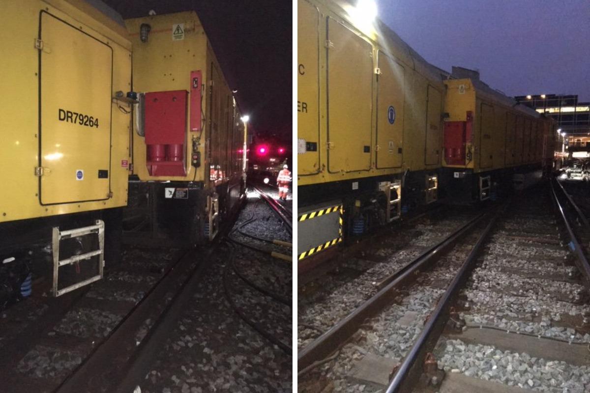 Train derailment at Victoria station causing mayhem for commuters