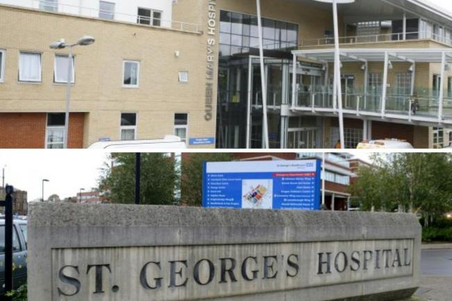 Staff assault figures at Queen Mary's Roehampton and St George's Hospital revealed