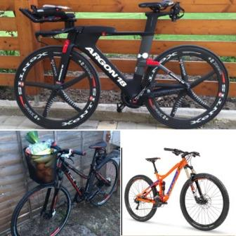 "The bikes stolen totalled ""thousands of pounds"", police said."