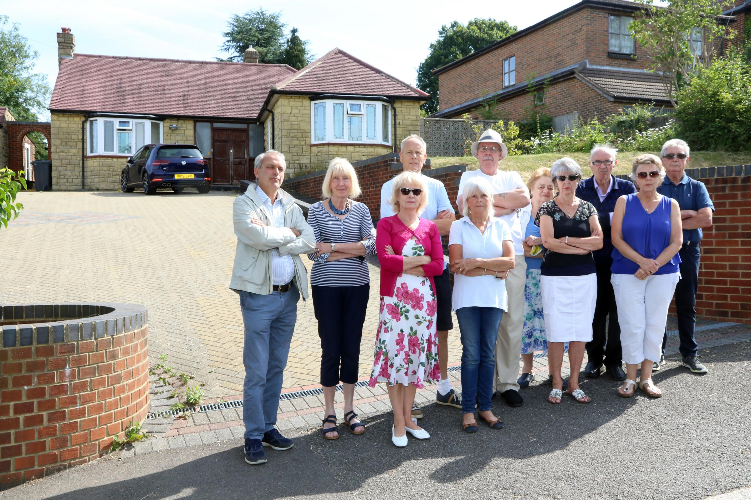 Hundreds sign petition opposing plans to turn Coulsdon bungalow into flats