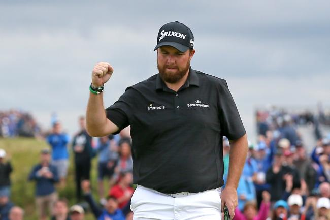 Shane Lowry holds a four-shot lead after the third round of the 148th Open