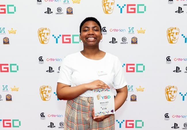 Elizabeth Orji-Smith attended the BAFTA Young Game Designers (YGD) ceremony