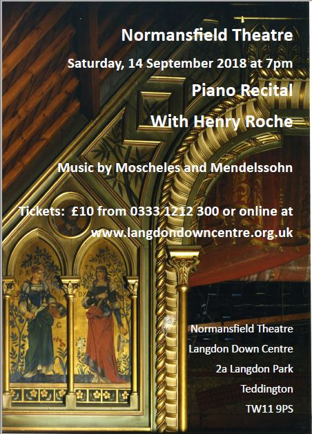 Piano Recital with Henry Roche