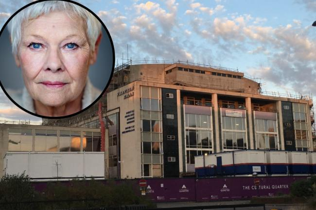 Dame Judi Dench to reopen theatre at newly revamped Fairfield Halls