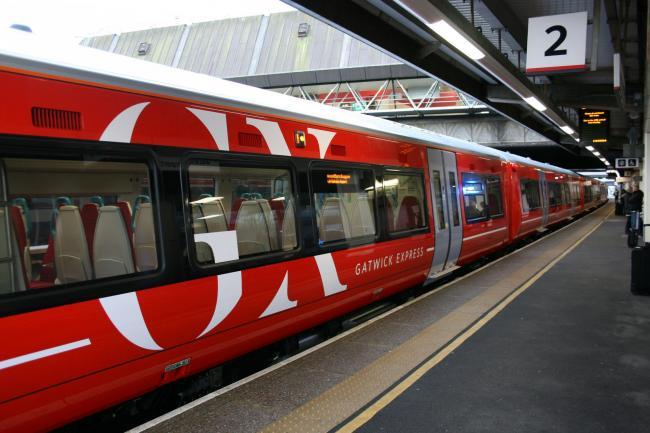 Disruption of up to 20 minutes on the Gatwick Express service from London Victoria to Brighton due to an alarm being activated at Gatwick Station.