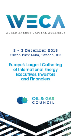 Oil & Gas Council, World Energy Capital Assembly, London 2019