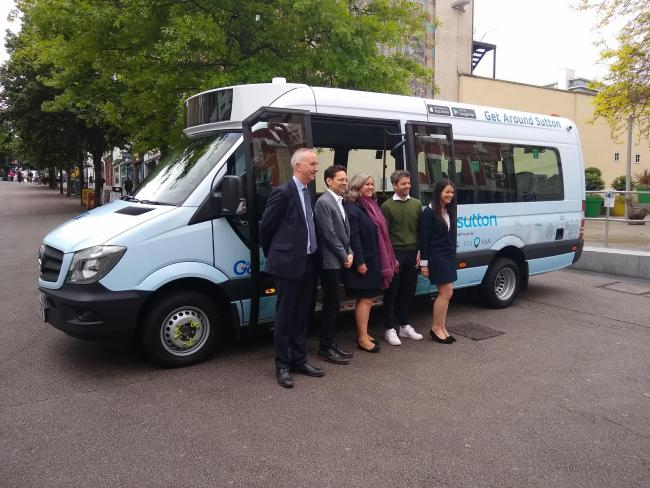 The bus service launched in May
