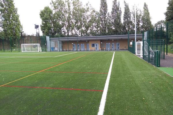 New all-weather sports pitch completed