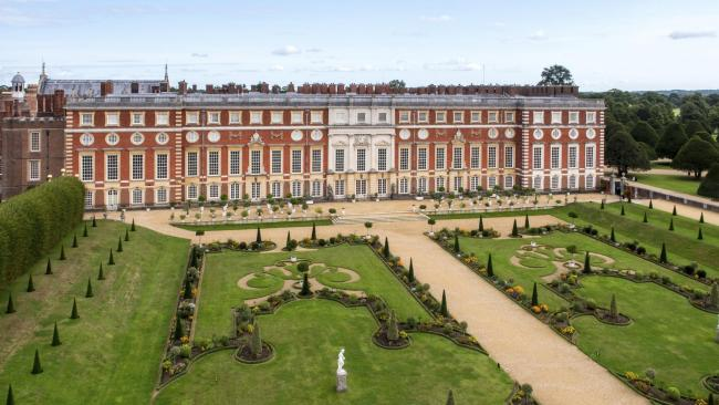 Photo credited to Hampton Court Palace.