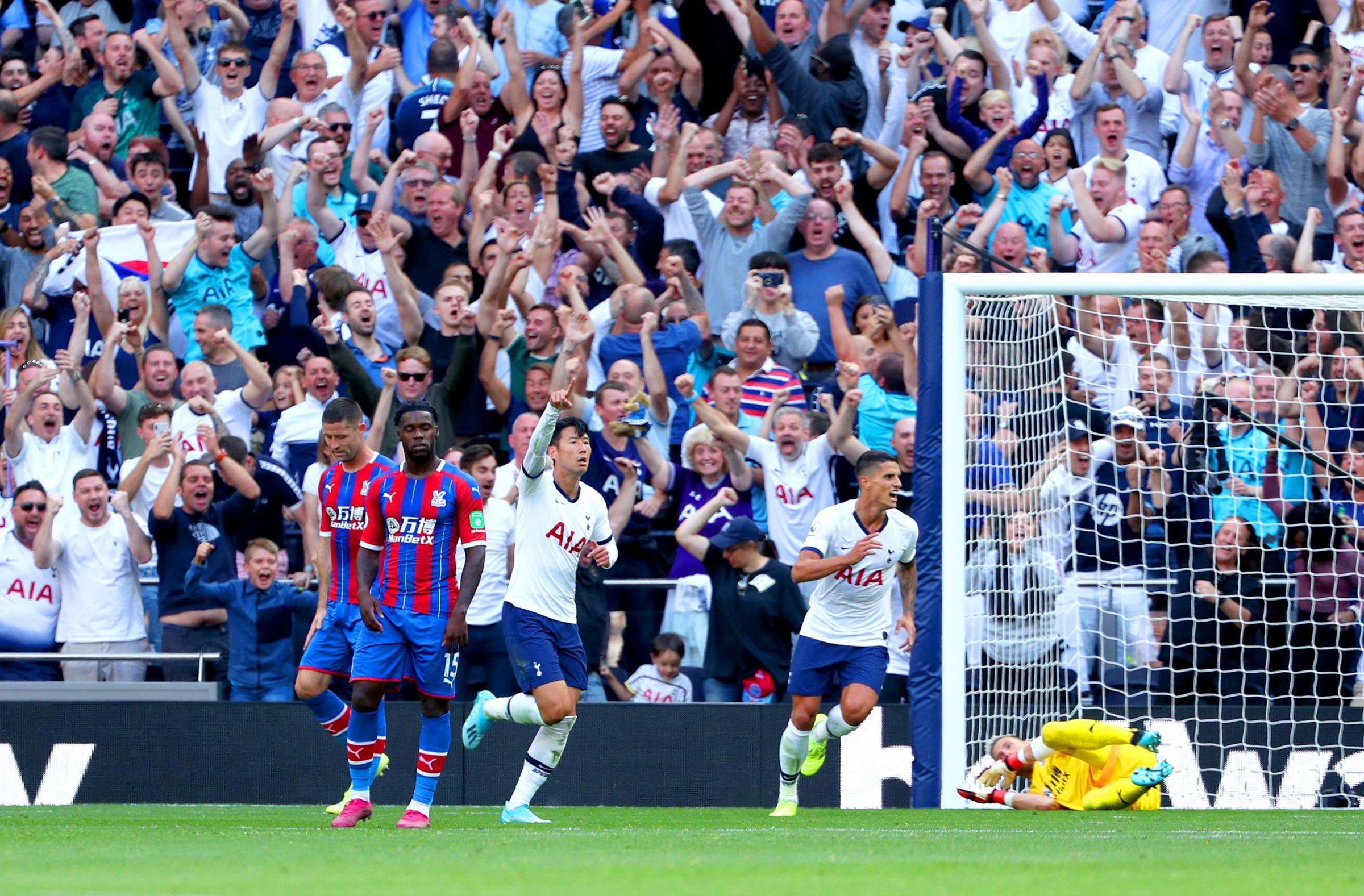 Report: Tottenham 4 Crystal Palace 0