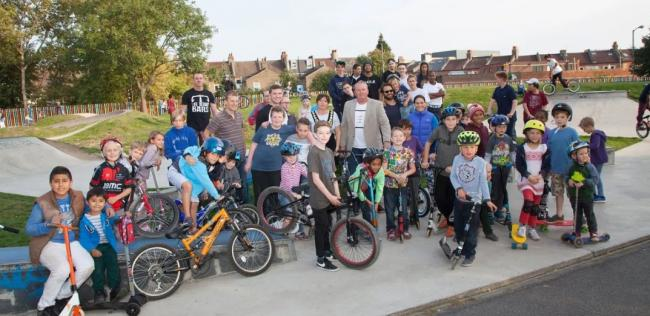 The BMX Jam group that Darren Bolger helped set up
