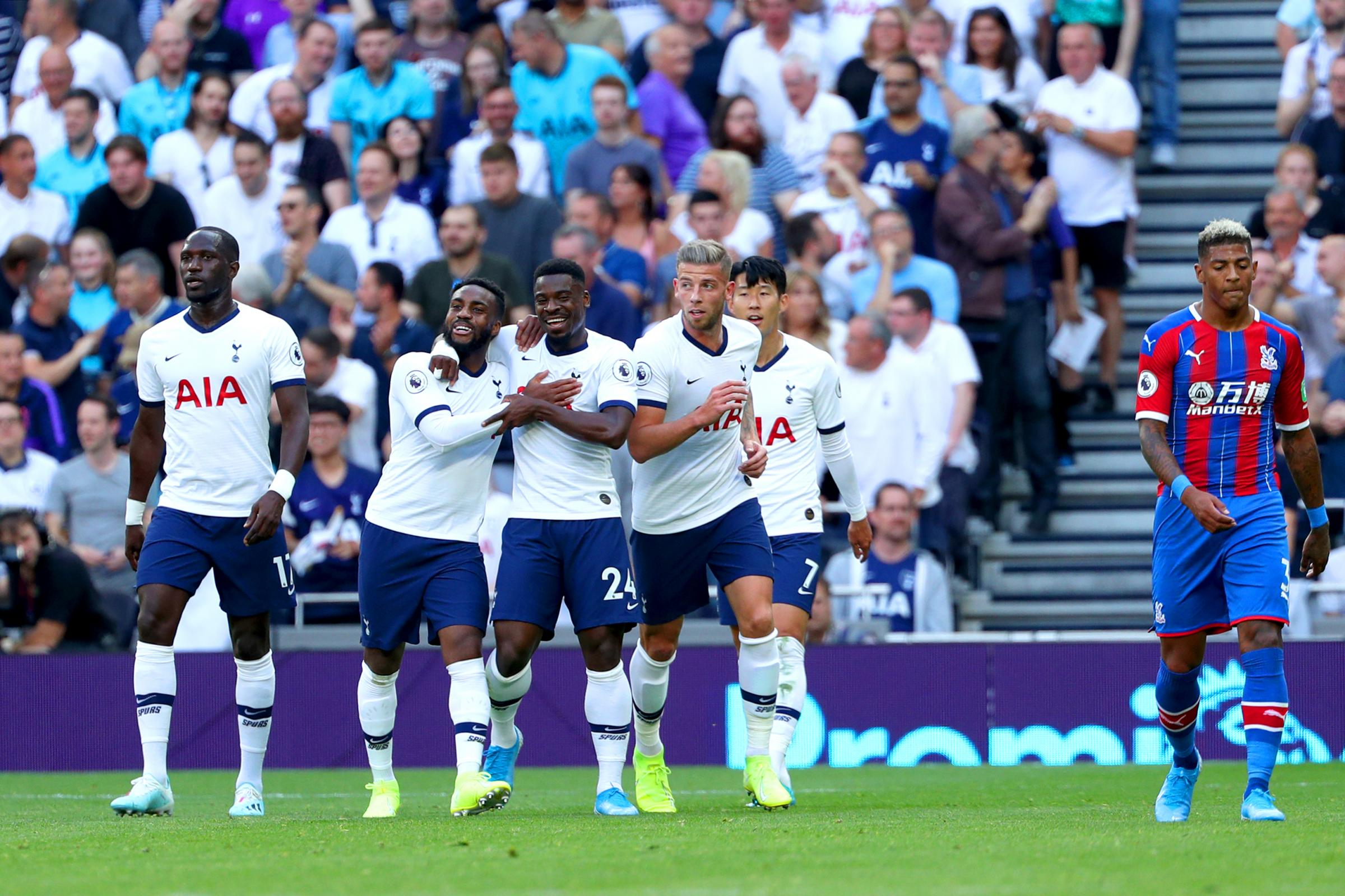 Crystal Palace's 4-0 defeat at Tottenham highlights van Aanholt's frailties