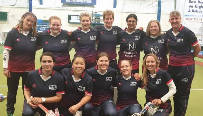 Back row, left to right: Catherine  Jones, Rebecca Quick, Jo Foster, Jo Greaves, Saba Nasim, Natasha Bourke, Sarah Curtis (Vice Captain)Front row, left to right: Farida Bibi, Jen Liu, Nanette Kritzinger (Captain), Sheri Lennon, Tessa Bruyns Coach: Russell