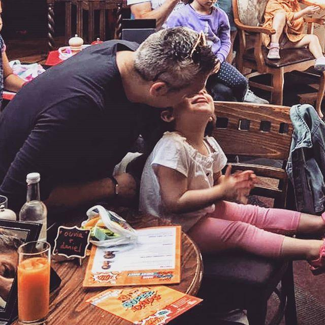 Roxanne Sharland, 37 from East Sheen held her first ever 'Super Dads' workshop at the Hare & Hound Pub