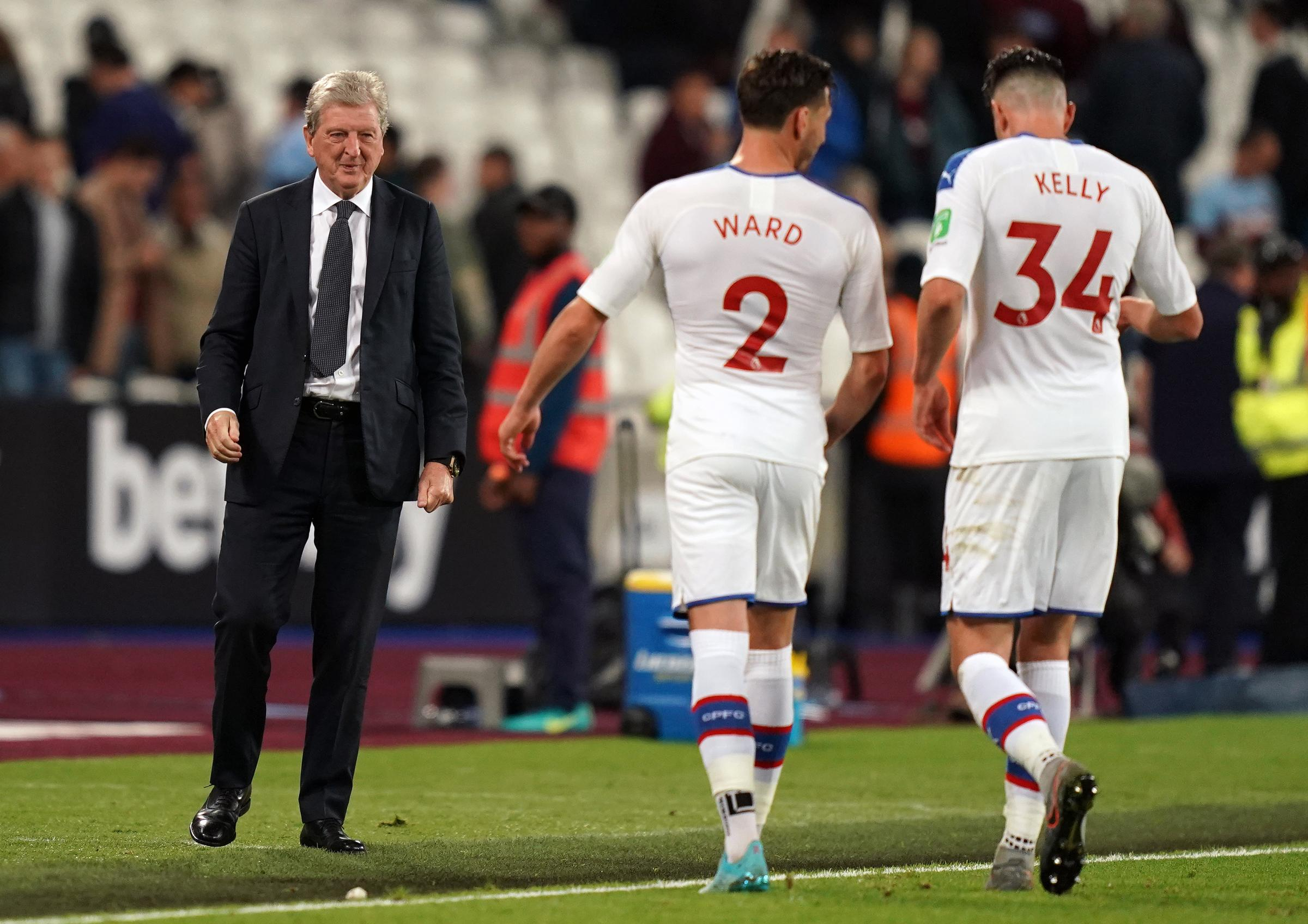 Hodgson remains realistic as Palace beat West Ham