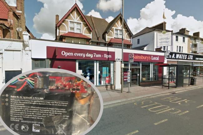 The Lebanese Loop was doscovered at the cash machine at Sainsbury's on Mitcham Lane