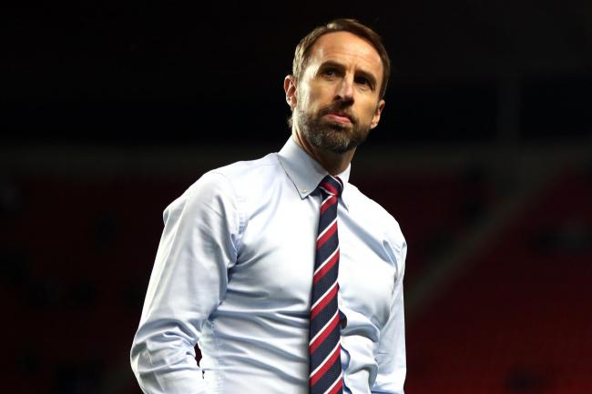England manager Gareth Southgate is considering changing his defensive system against Bulgaria