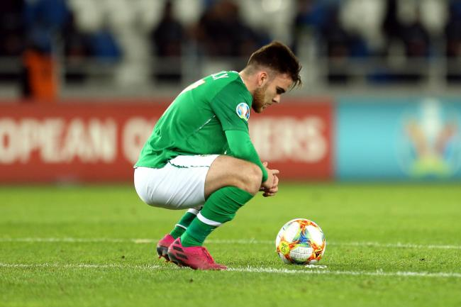 Republic of Ireland debutant Aaron Connolly is thrilled to be learning from Robbie Keane