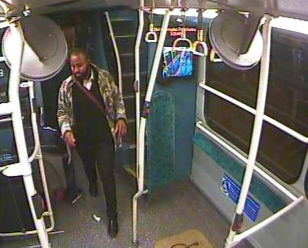 This man got off a bus moments before woman was raped in Mitcham - Police now want to speak with him