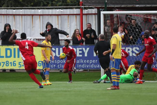 Dagenham and Redbridge in the way of Carshalton's FA Cup dream
