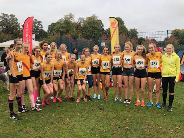 Hercules Wimbledon's successful under 15 and under 17 squad at Reigate