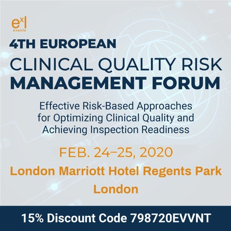 4th European Clinical Quality Risk Management Forum