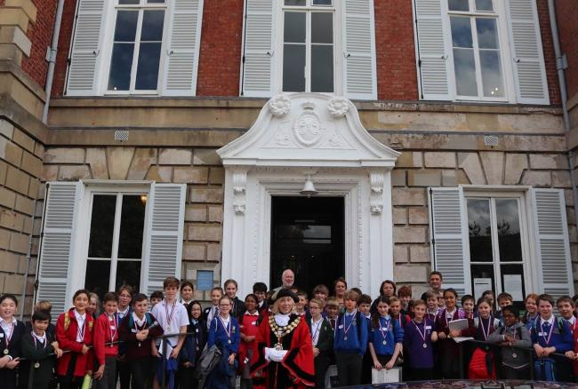 Year 6 children from across Richmond got the opportuniy to become local polticians for the day.