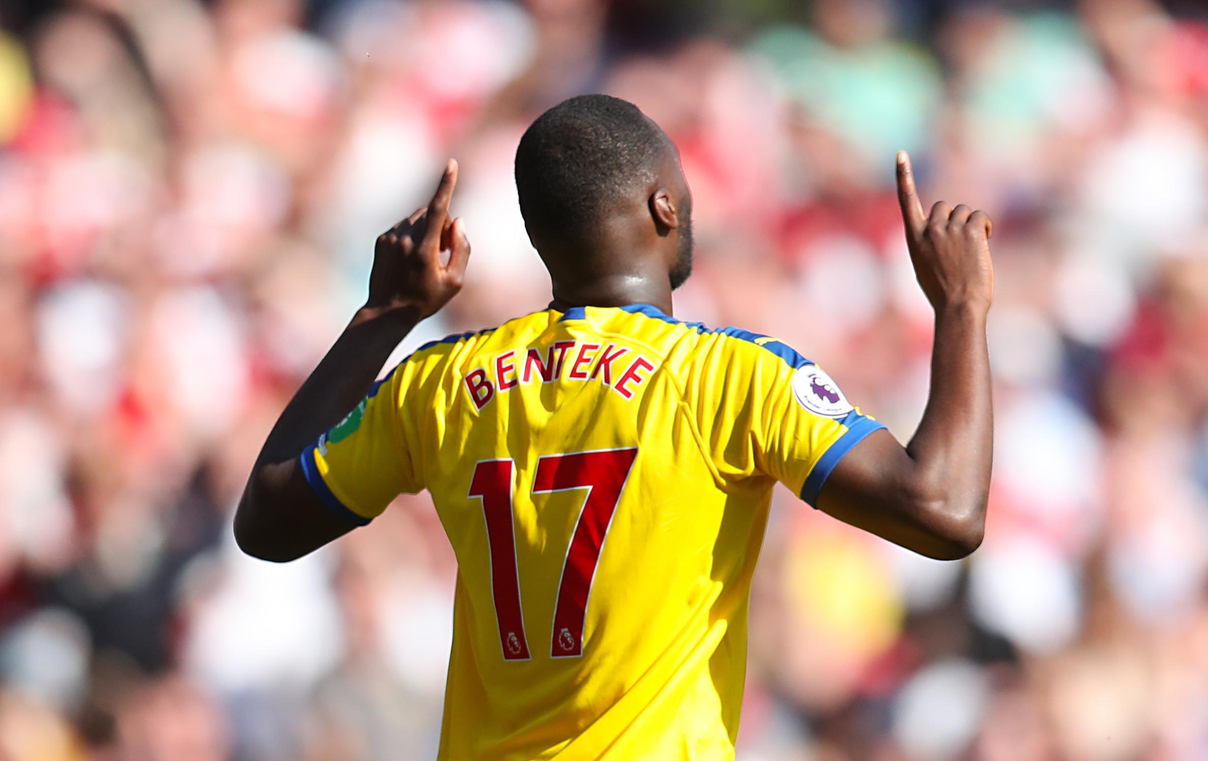 Christian Benteke and James Tomkins extend Crystal Palace stay