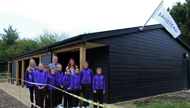 Banstead Prep School's new state-of-the-art sports facilities opened by Paralympian and World Champion Lauren Steadman