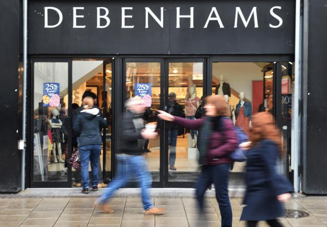 Debenhams is reportedly on the brink of collapse