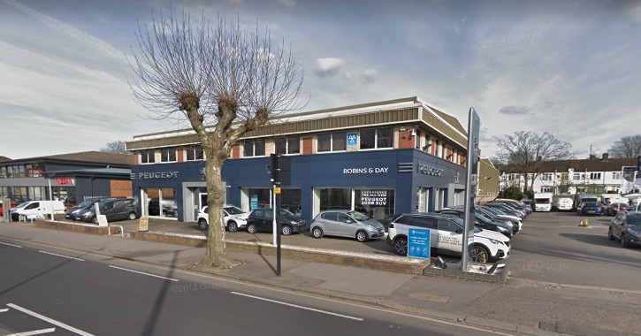 Flats plans for Croydon car showroom