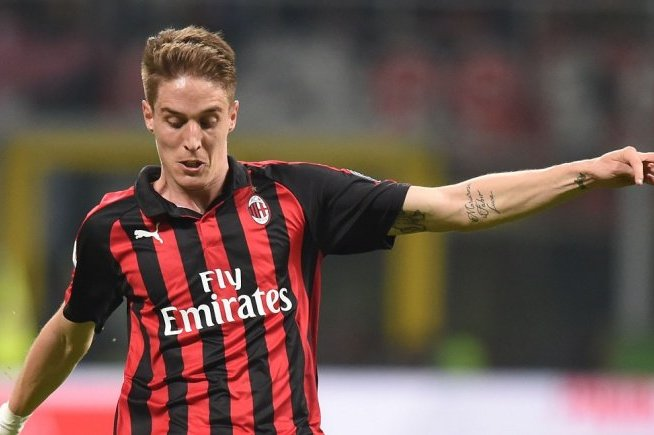 AC Milan's Andrea Conti snubbed Crystal Palace summer move