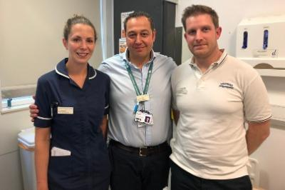 First major trauma centre to launch specialist clinic