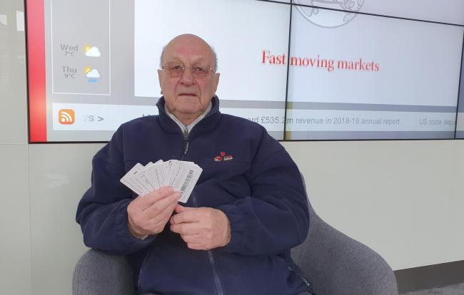 Arthur Packer bought £500 worth of Google gift cards after falling victim to a scam