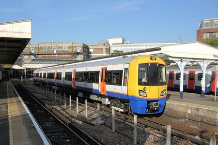 There is currently no service between Richmond and South Acton Stations.