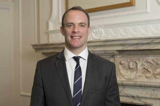 Dominic Raab. Image: Ministry of Housing, Communities and Local Government via Flickr