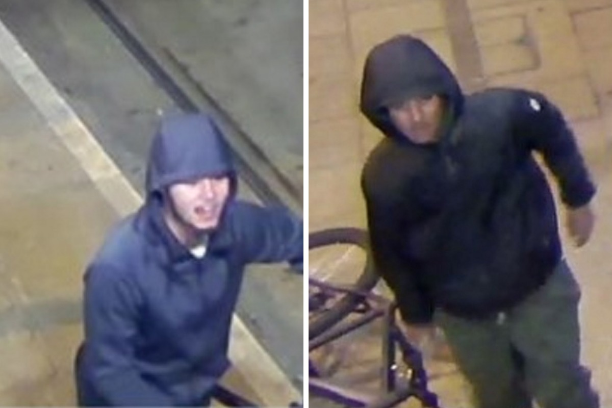 Man punched and kicked at a Croydon tram stop during violent attempted robbery
