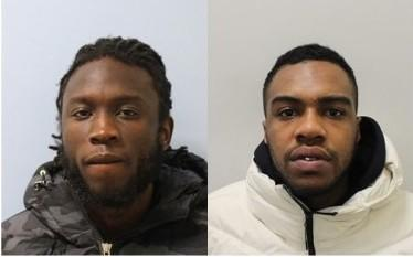 Cassiel Wuta-Ofei, 27, (09.04.92) of Priory Crescent, SE19 and Malki Martin, 24, (24.04.95) of Fortrose Gardens, SW2 were sentenced to a total of nine years' imprisonment.