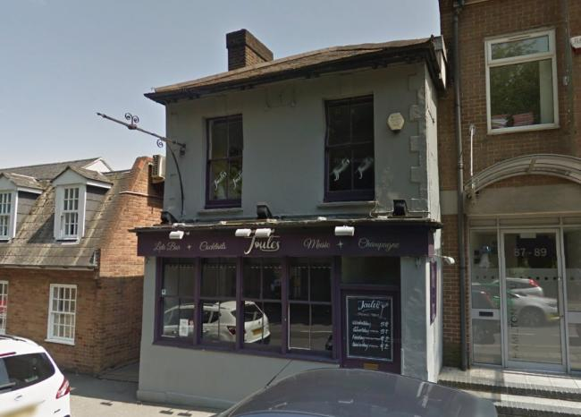 Joules wine bar in Reigate. Image: Google Maps