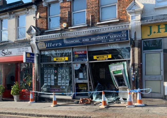 'Ram raid?' - Police say this damage was NOT caused by a criminal
