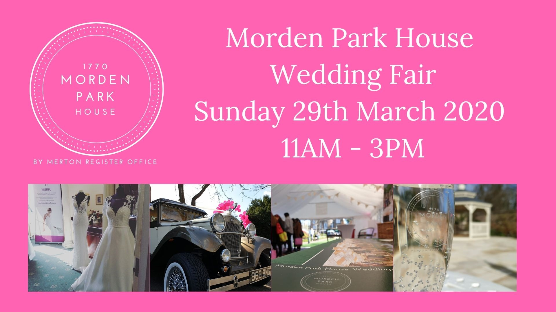 Morden Park House Wedding Fair