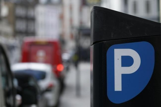 A motorist was reportedly distracted while using a parking machine
