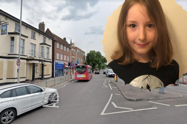 Holly Lothian was hit by a car on Malden Road