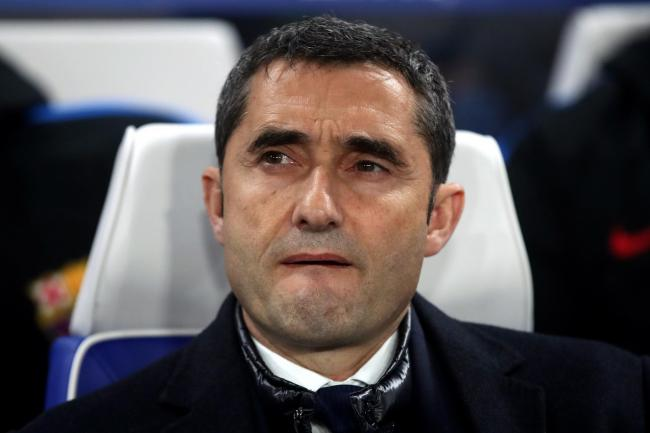 Ernesto Valverde has been replaced as Barca boss