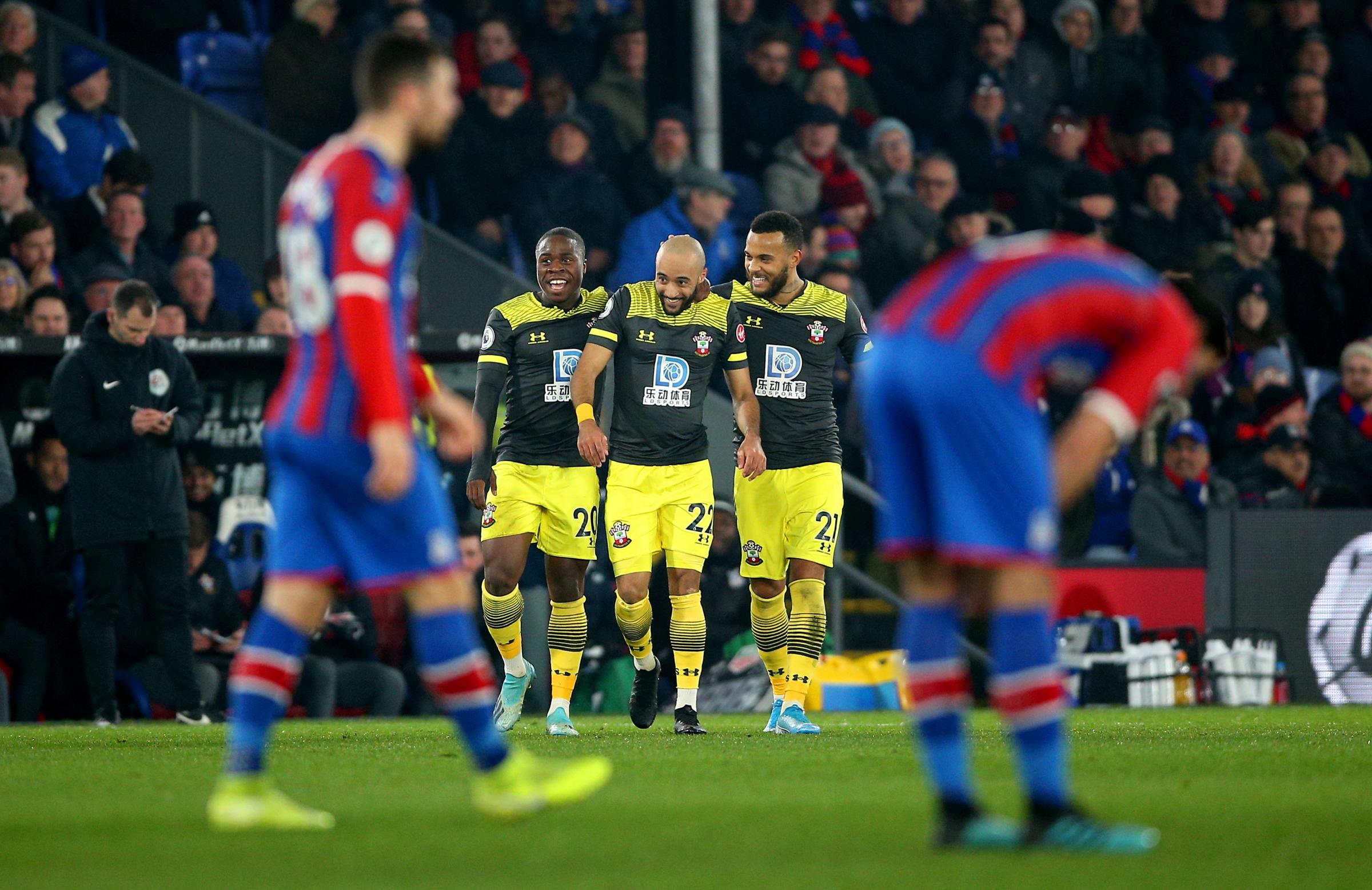 REPORT: Crystal Palace 0 Southampton 2 - Redmond and Armstrong strike to sink sorry Eagles